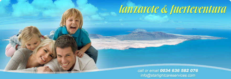 homecare services lanzarote and fuerteventura